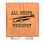 All State Trumpet Shower Curtain