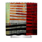 All Stripes 1 Shower Curtain