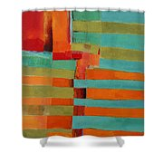 All Stripes 2 Shower Curtain