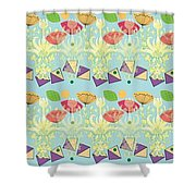 All That Jazz Shower Curtain