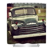 All The Chicks Pick Chevrolet Shower Curtain