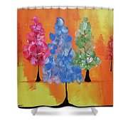 All The Pretty Colors II Shower Curtain