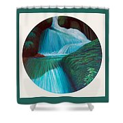 All Things Considered Shower Curtain