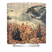All Things Die  But All Will Be Resurrected Through God's Love Shower Curtain