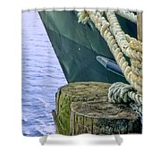 All Tied Up In Port Jefferson No 1 Shower Curtain