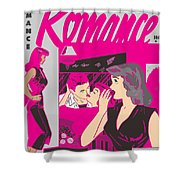 All True Romances 5 Pinks Shower Curtain