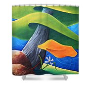 All Under One Roof Shower Curtain
