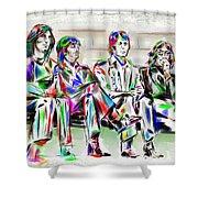 Beatle Love Shower Curtain