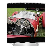 Allard J2 Racer. Shower Curtain