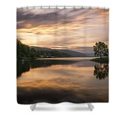 Allegany Sunset Shower Curtain