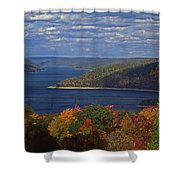 Allegheny National Forest Lake  Shower Curtain