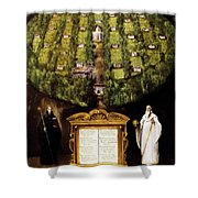 Allegory Of Camaldolese Order 1600 Shower Curtain