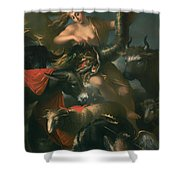Allegory Of Fortune Shower Curtain