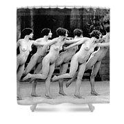 Allen: Chorus Line, 1920 Shower Curtain by Granger