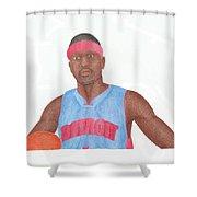 Allen Iverson Shower Curtain
