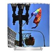 Allen Pride Shower Curtain