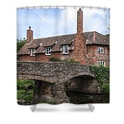 Allerford - England Shower Curtain