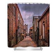 Alley A At Dawn Shower Curtain