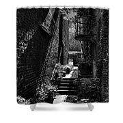 Alley Garden Shower Curtain