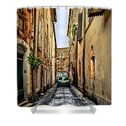 Alley In Avignon Shower Curtain
