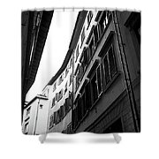 Alley In Florence Shower Curtain