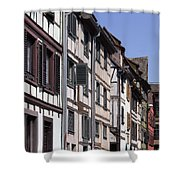 Alley In La Petite France Shower Curtain