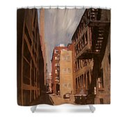 Alley Series 1 Shower Curtain