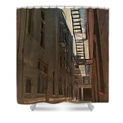 Alley Series 5 Shower Curtain