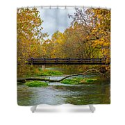 Alley Spring River Shower Curtain