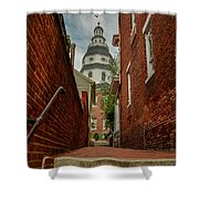 Alley View Shower Curtain