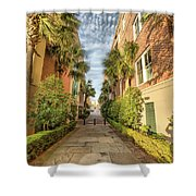 Alleyway In Chaleston Shower Curtain