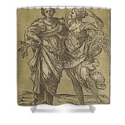 Alliance Of Peace And Abundance Shower Curtain