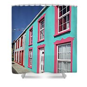 Allihies Streetscape West Cork Shower Curtain