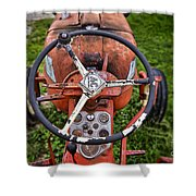 Allis Chalmers As You Sit Shower Curtain