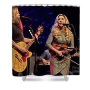 Allison Krauss With Jamey Johnson Shower Curtain
