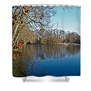 Alloway Lake - New Jersey - Usa Shower Curtain