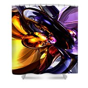 Alluring Grace Abstract Shower Curtain