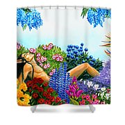 Alluring Scent Shower Curtain