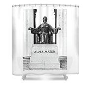 Alma Mater Shower Curtain