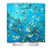 Almond Blossom Shower Curtain