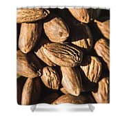 Almond Nuts Shower Curtain
