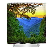 Almost Heaven - West Virginia 3 - Paint Shower Curtain