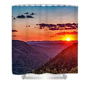 Almost Heaven - West Virginia Shower Curtain