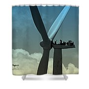 Almost Out Of Sight Shower Curtain