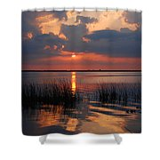 Almost Sunset In Florida Shower Curtain
