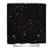 Almost Ten Thousand Galaxies As Seen By Hubble Shower Curtain