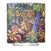 Almost Tropical Shower Curtain