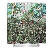 Aloe Garden Vumba Shower Curtain
