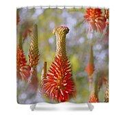 Aloe Vera Bloom Shower Curtain
