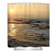 Aloha Oe Sunset Hookipa Beach Maui North Shore Hawaii Shower Curtain